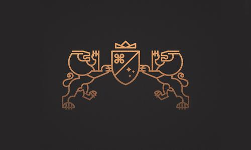 25例运用线条艺术的logo设计