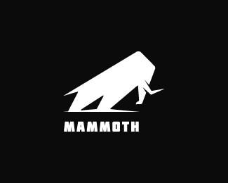 标志设计元素应用实例:长毛象