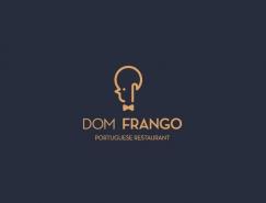 葡萄牙Dom Frango餐馆视觉形象设计