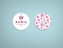 Avril Complementos时装店视觉形象设计