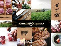 品牌设计欣赏:Silver Fern农场肉产品