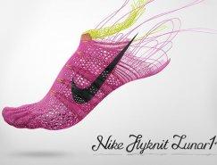 Nike Flyknit Lunar 1运动鞋品牌推广设计