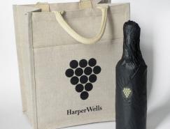 品牌设计欣赏:HarperWells葡萄酒