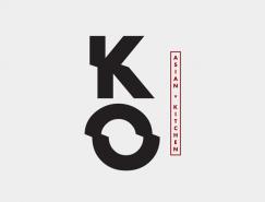 KO Asian Kitchen餐厅品牌设计