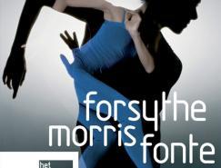 荷兰国家芭蕾舞团演出海报设计