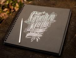 20个国外创意手绘字体设计欣赏
