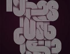 50款美妙英文艺术字体设计