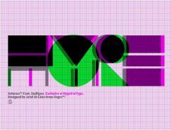 漂亮的英文字体设计集锦