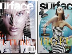 Surface时尚杂志封面设计