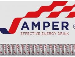 J-Amper能量饮料概念包装设计