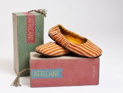 非洲色彩:深厚非洲风情的鞋包装设计