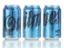漂亮的易拉罐饮料包装设计