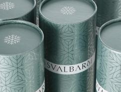 纯净唯美的Svalbardi Iceberg冰山水包装设计