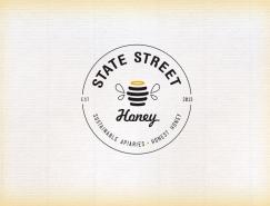 State Street蜂蜜包装设计