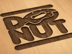 标志设计元素运用实例:甜甜圈