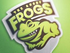 标志设计元素运用实例:青蛙(三)