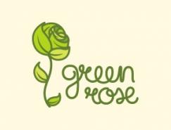 标志设计元素运用实例:玫瑰