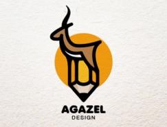 25个漂亮的动物标志设计欣赏