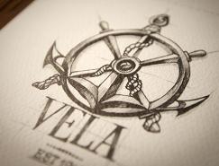 精致的手绘logo设计欣赏