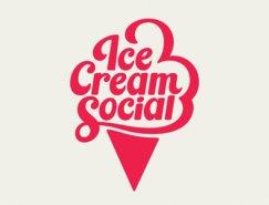 标志设计元素运用实例:冰淇淋
