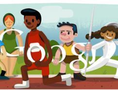 2012伦敦奥运会Google徽标(doodles)设计