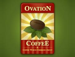 36款漂亮创意的咖啡标志设计