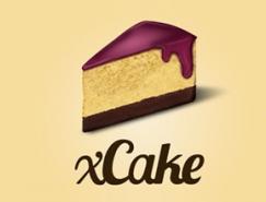 标志设计元素运用实例:蛋糕