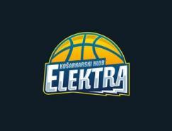 篮球题材的Logo欣赏