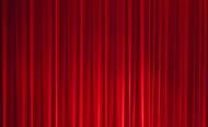 淘宝红色幕布背景图片