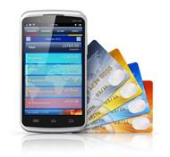手机与信用卡图片