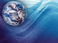 地球科技精美PPT模板