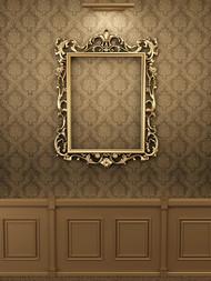 欧式相框展示PSD图片