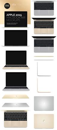 苹果电脑笔记本PSD图片