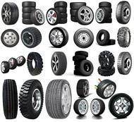 各种类型轮胎PSD图片