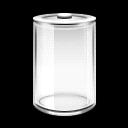 精美透明电池图标
