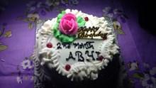 白巧克力生日蛋糕高清图片