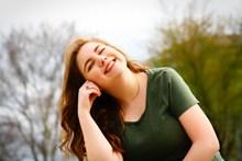 美女少妇微笑精美图片