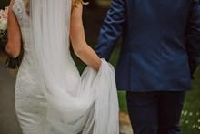 情侣婚纱背影素材图片大全