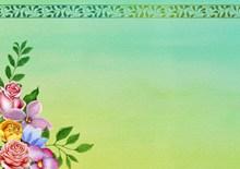 欧式花边设计边框高清图片