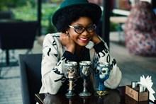 黑人美女头像图片下载