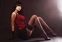 超短裙黑丝袜美女图片大全