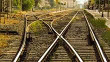 铁路轨道摄影高清图片
