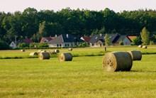 田园干草垛高清图