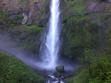 瀑布流水摄影图片素材