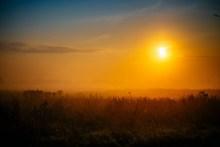 黄昏日落美景精美图片