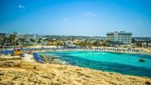 暑期度假海滩图片