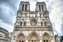 法国教堂建筑外观图片