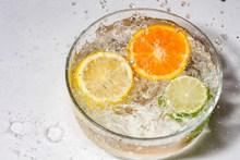 冰镇柠檬水素材高清图片