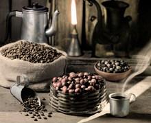 巴西咖啡豆高清图