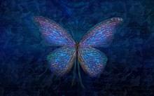 创意蝴蝶背景图片